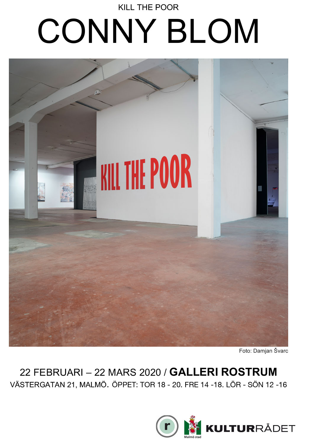 Conny Blom, Kill the poor
